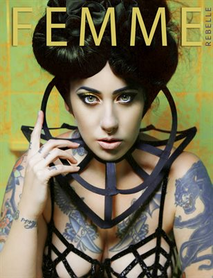 Femme Rebelle Magazine OCTOBER 2017 Book 2 - Bettie Butcher Cover