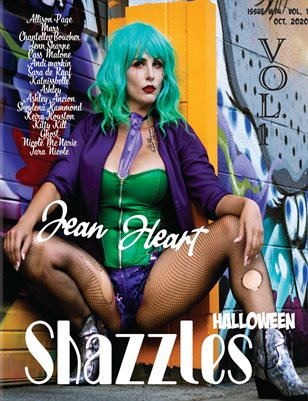 Shazzles Halloween Issue #74 VOL. 1 Cover Model jean Heart