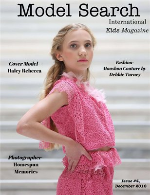 Issue #4 Model Search International Kids Magazine