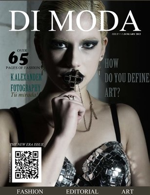 """DI MODA """"The New Era"""" Issue No.1 JANUARY 2013"""