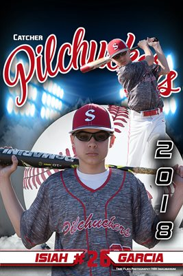 2018 Pilchuckers #26 Isiah Blue poster