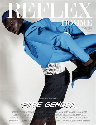 "REFLEX HOMME march/april2016 ""Free Gender"" Fernando Cabral"