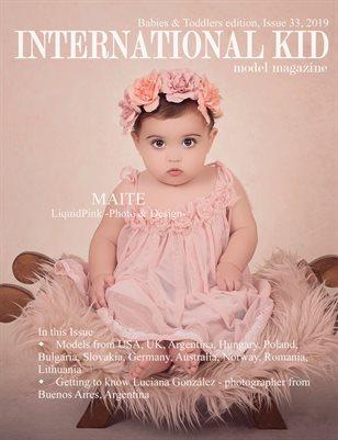 International Kid Model Magazine Issue #33, Babies & Toddlers