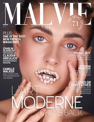 MALVIE Mag The Artist Edition Vol 71 November 2020