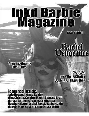 Inkd Barbie Magazine B&W- Rachel Vengeance