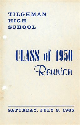 TILGHMAN HIGH SCHOOL CLASS OF 1950 REUNION