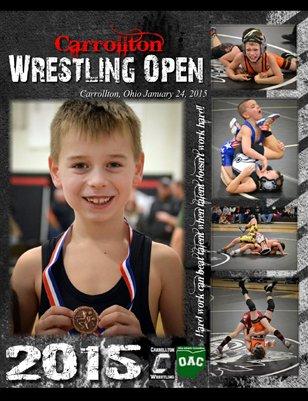 Carrollton Wrestling 2015 OAC Open