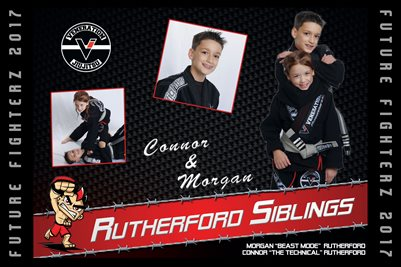 Rutherford Siblings Calendar poster 2017