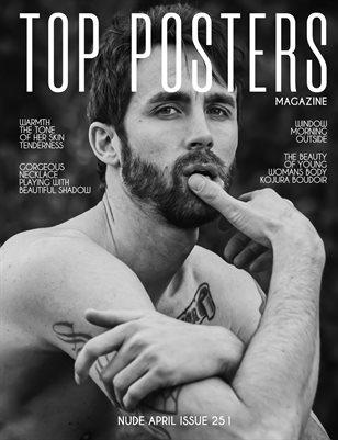 TOP POSTERS MAGAZINE- NUDE APRIL (vol 251)