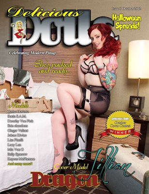 Delicious Dolls Issue 9 - Jillian Cover