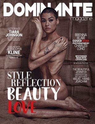 DOMINANTE French Magazine La Muses Edition Vol. 72 Apr. 2021