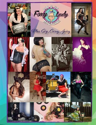 Plus Size, Curvy, Juicy - FoxyLadyPinUpMagazine - Issue 9