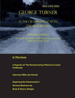 George Turner Paranormal Magazine