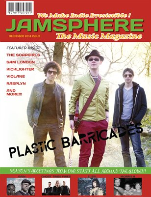 Jamsphere Indie Music Magazine December 2014