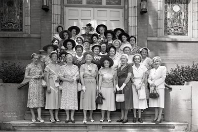 JUNE 29, 1951 FIRST CHRISTIAN CHURCH SUNDAY SCHOOL CLASS