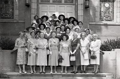 JUNE 29, 1951 FIRST CHRISTIAN CHURCH SUNDAY SCHOOL CLASS