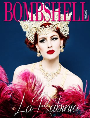 BOMBSHELL Magazine April 2020 BOOK 2 - La Rubinia Cover