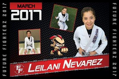 Leilani Nevarez Cal Poster 2017