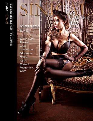 Sinical April 2018 - Mistress Eve cover edition