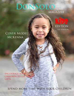 DonSolo Magazine 1st Kids Edition