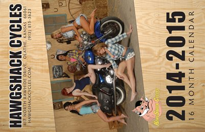 2014-2015 HawgShack Cycles Calendar