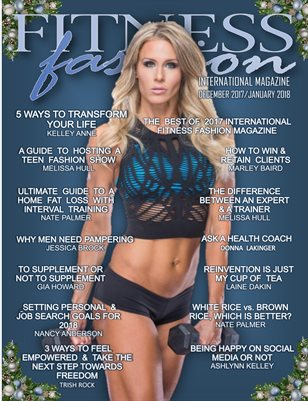International Fitness Fashion Magazine Dec 2017/Jan 2018