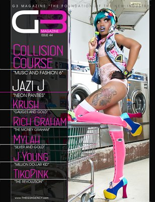 G3 Magazine Issue 44 (Jazi J)