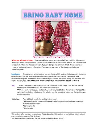 Bring Baby Home