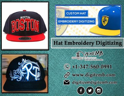 Hat Digitizing