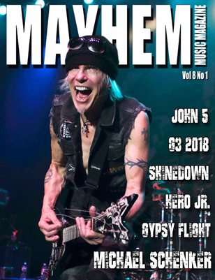 Mayhem Music Magazine Vol. 8 No. 1