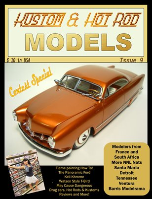 Kustom and Hot Rod Models #9