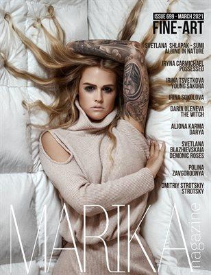 MARIKA MAGAZINE FINE-ART (ISSUE 699 - MARCH)