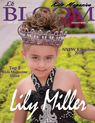 Le Bloom Kids Magazine Lily Miller
