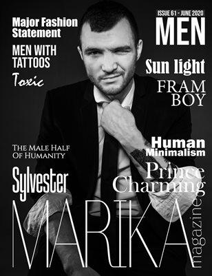MARIKA MAGAZINE MEN (July - issue 61)