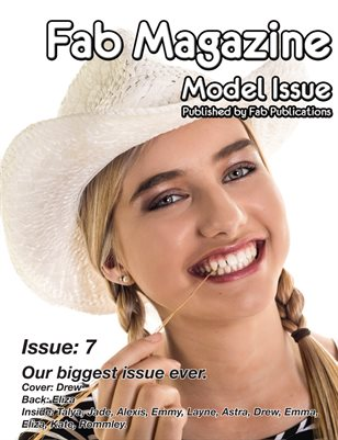 Fab Magazine Model Issue 7