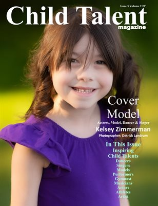 Child Talent Magazine Issue 5 volume 2 20'