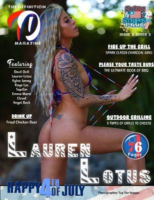 TDM:  Lauren Lotus Stars & Stripes Issue 3 Cover 2
