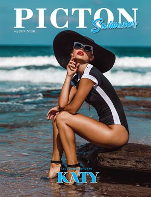 Picton Magazine SEPTEMBER  2019 N268 Swimwear Cover 2