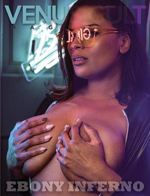 Venus Cult No.32 – Ebony Inferno Cover