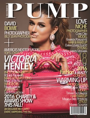 PUMP Magazine Flashback Edition Issue 62 Featuring ANTM's Victoria Henley