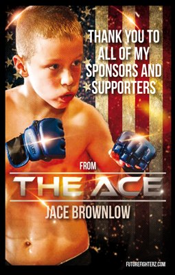 Jace Brownlow Thank You Flyer