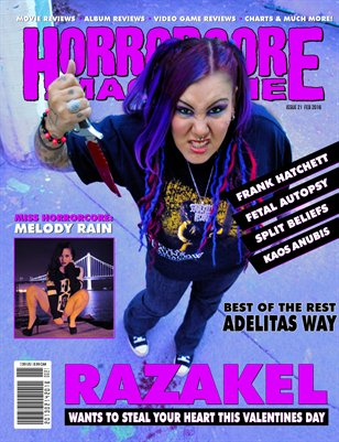 Issue 21 – Razakel & Adelitas Way