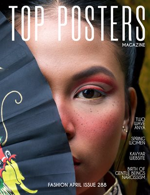 TOP POSTERS MAGAZINE- FASHION, APRIL(vol 288)
