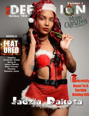 TDM Jadzia Dakota Xmas Issue 1 cover1