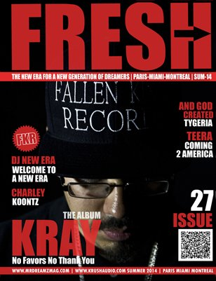 Kray Fallen Kings Records Mr Dreamz Fresh Edition