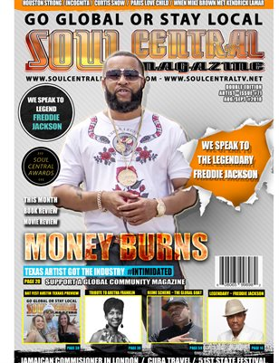 Soul Central Magazine #Edition #71 Indie Artist Money Burns