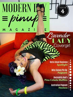 Modern Day Pin Up Magazine Volume 4