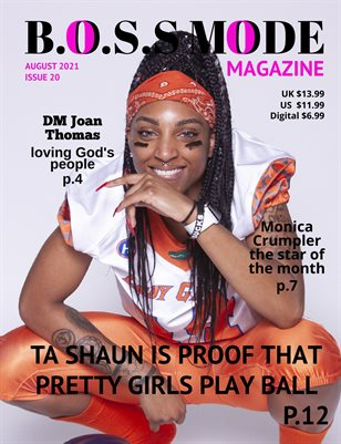 B.O.S.S MODE Magazine August Edition 2021