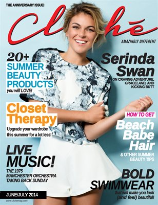 Cliché Magazine - June/July 2014 (Serinda Swan Cover)