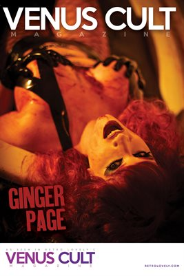 Venus Cult No.39 – Ginger Page Cover Poster